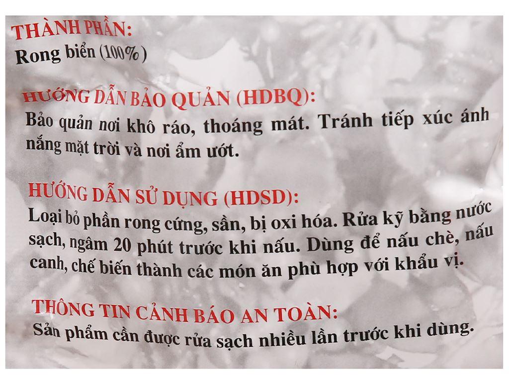 Rong biển khô Trúc Khanh gói 40g 3