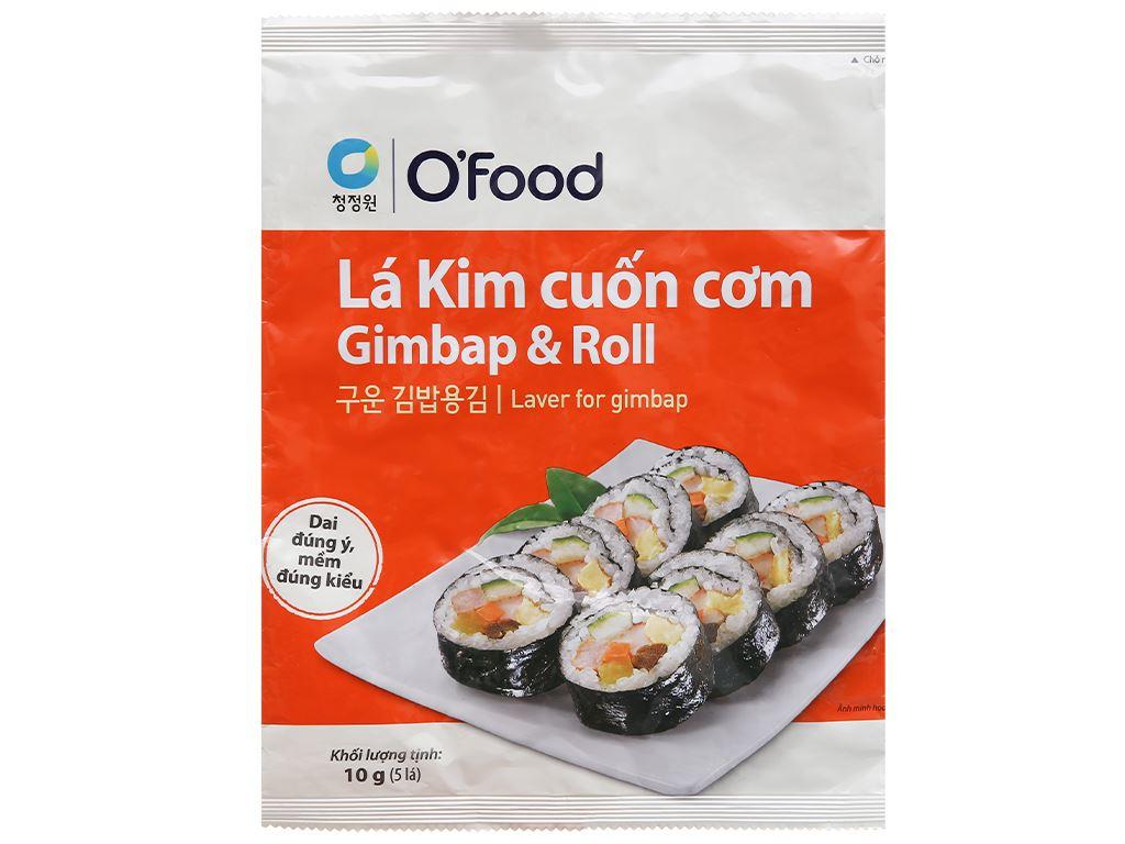 Lá kim cuộn cơm O'food gói 10g 1
