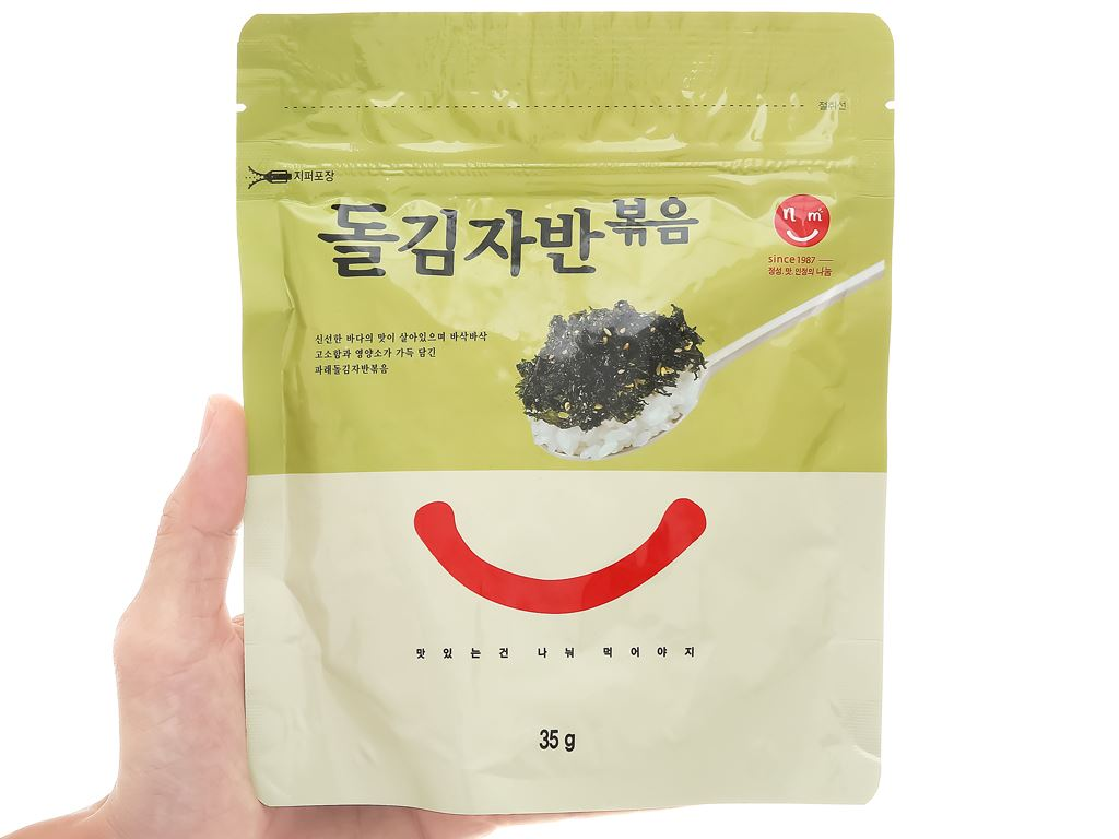 Rong biển rắc cơm Master Kim vị truyền thống gói 35g 4