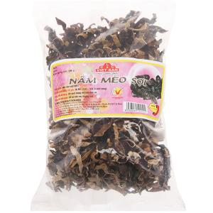 Nấm mèo đen sợi Việt San túi 100g