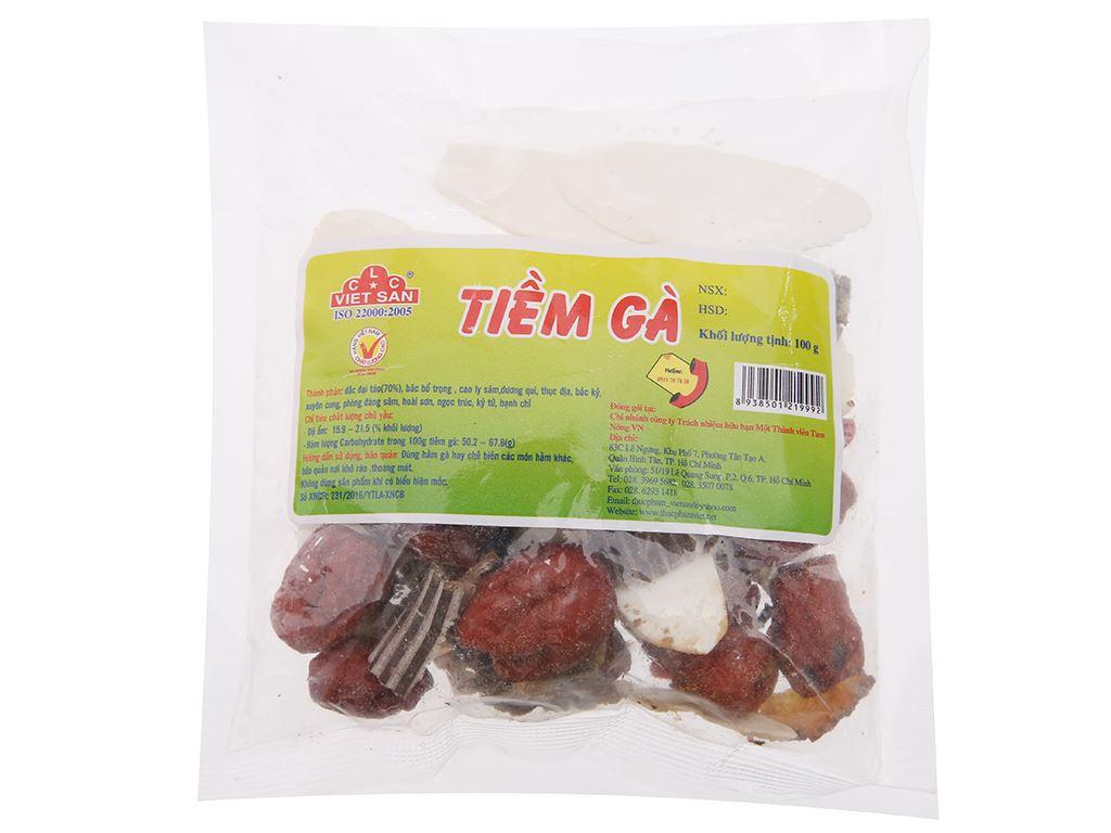Tiềm gà Việt San gói 100g 1