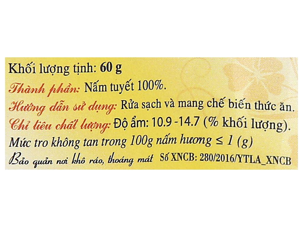 Nấm tuyết Việt San gói 60g 3