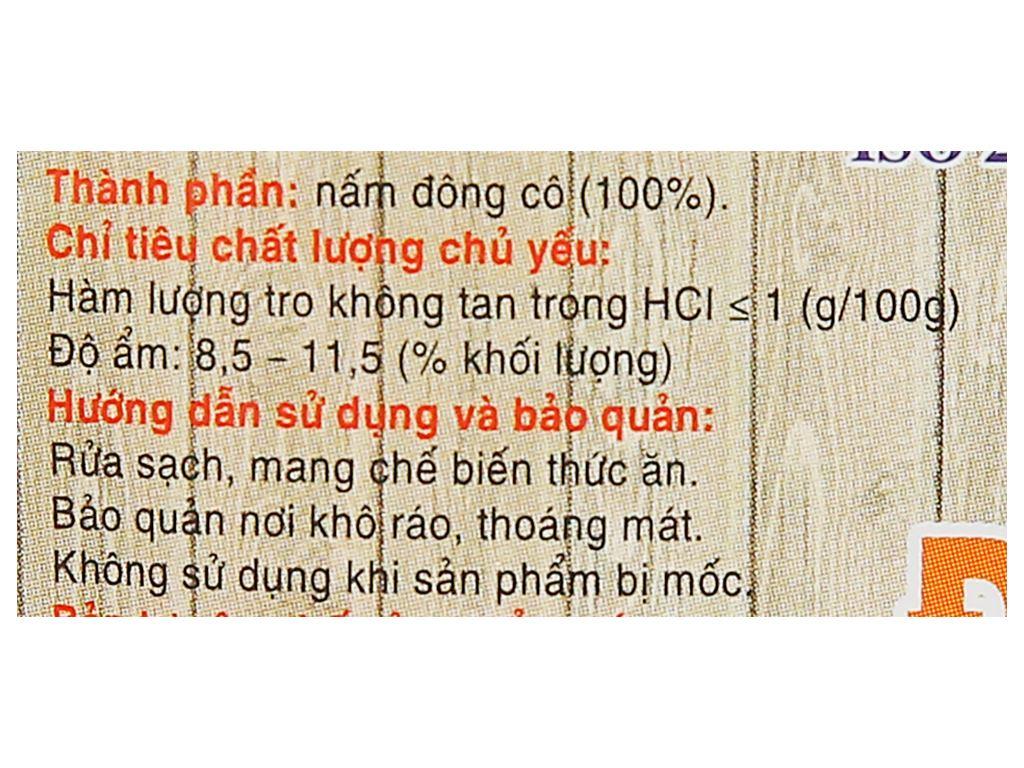 Nấm đông cô Việt San gói 50g 4
