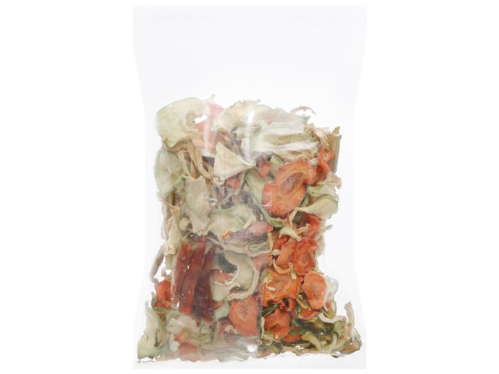 Hỗn hợp dưa món khô Trâm Anh gói 100g 2