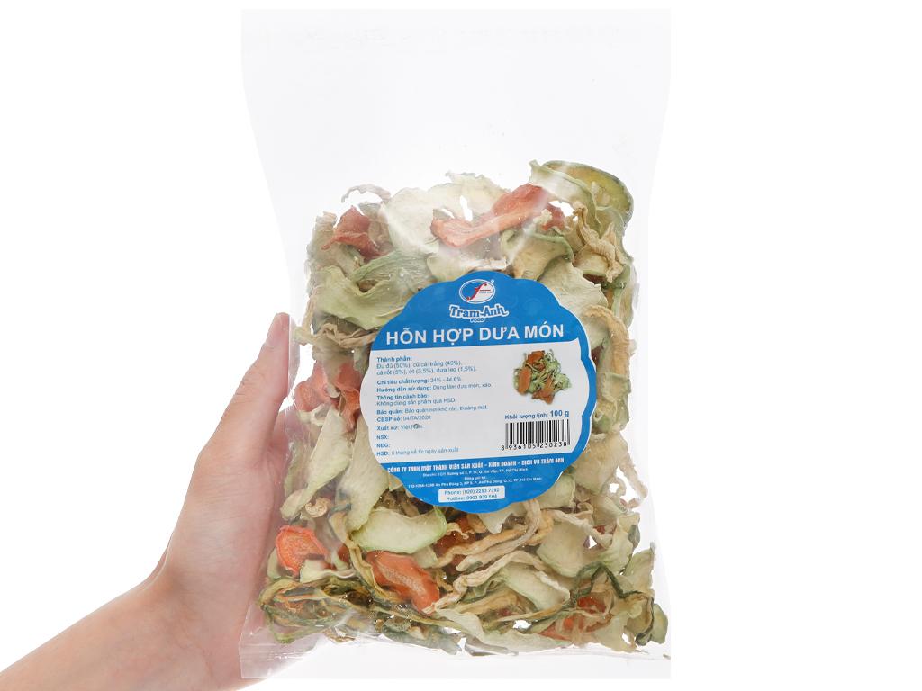 Hỗn hợp dưa món khô Trâm Anh gói 100g 4