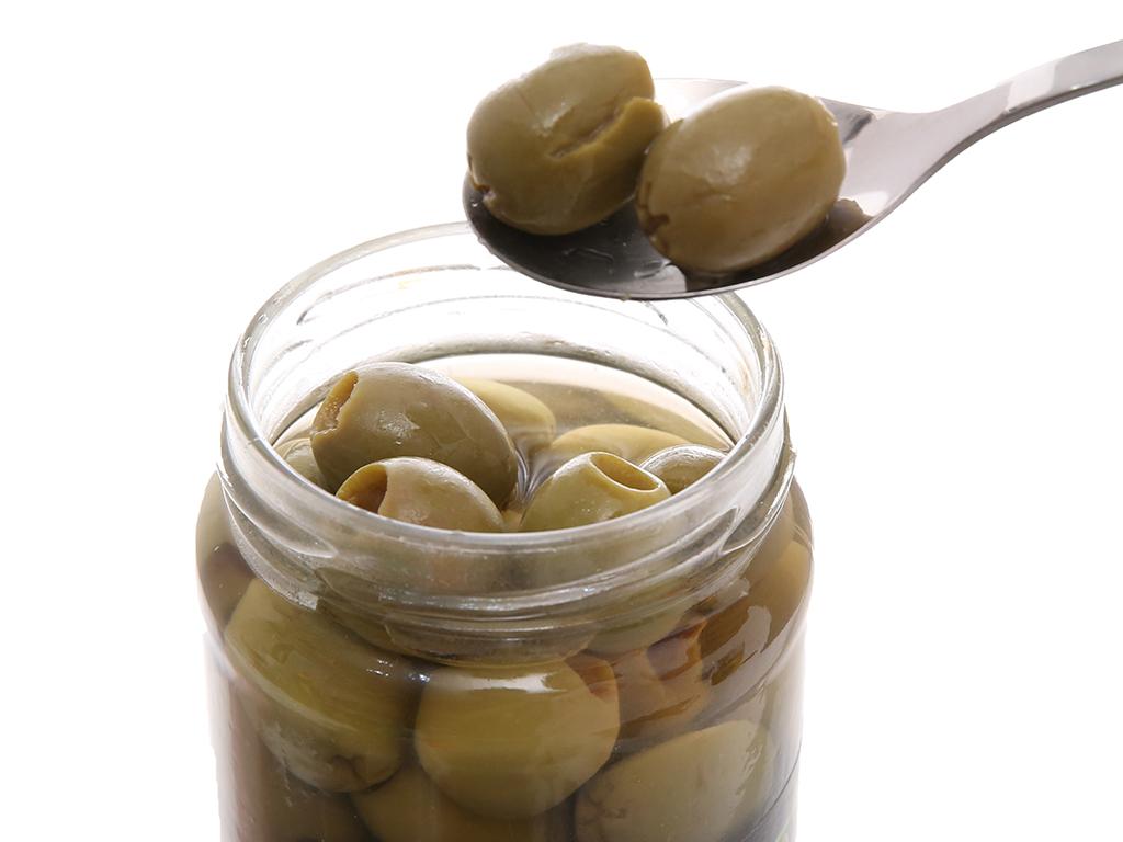 Oliu xanh tách hạt Latino Bella hũ 450g 5