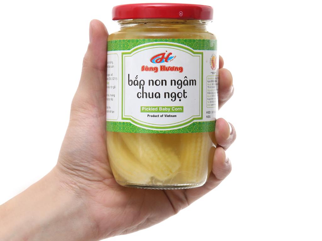 Bắp non chua ngọt Sông Hương hũ 370g 5