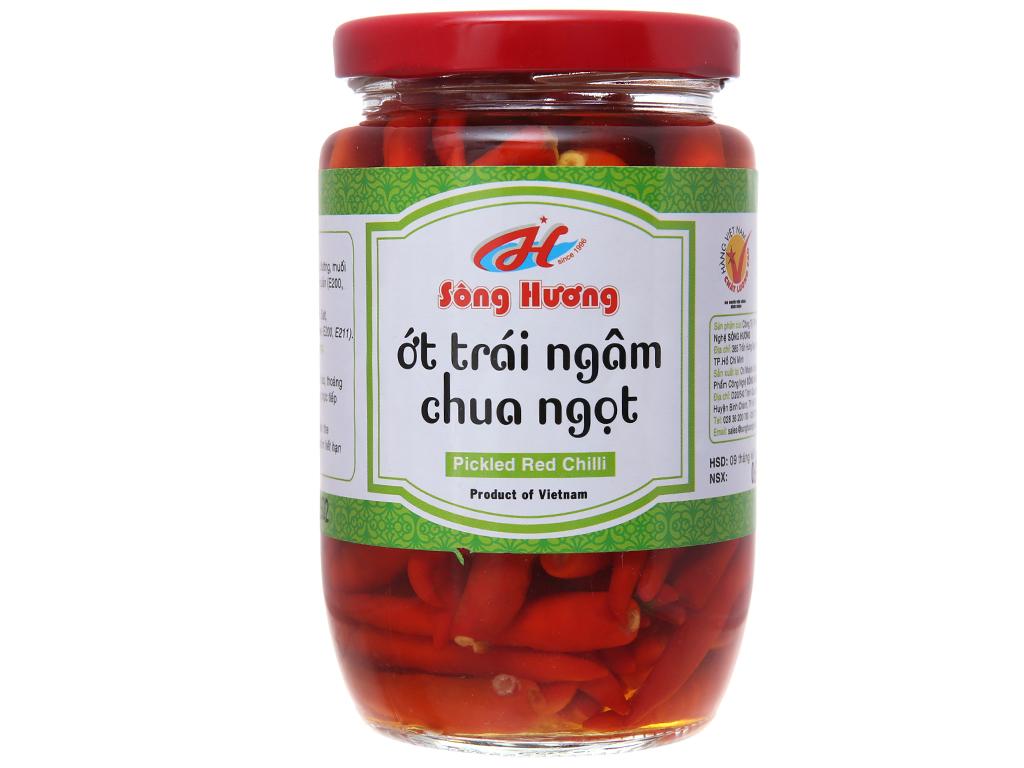 Ớt ngâm chua ngọt Sông Hương hũ 350g 2