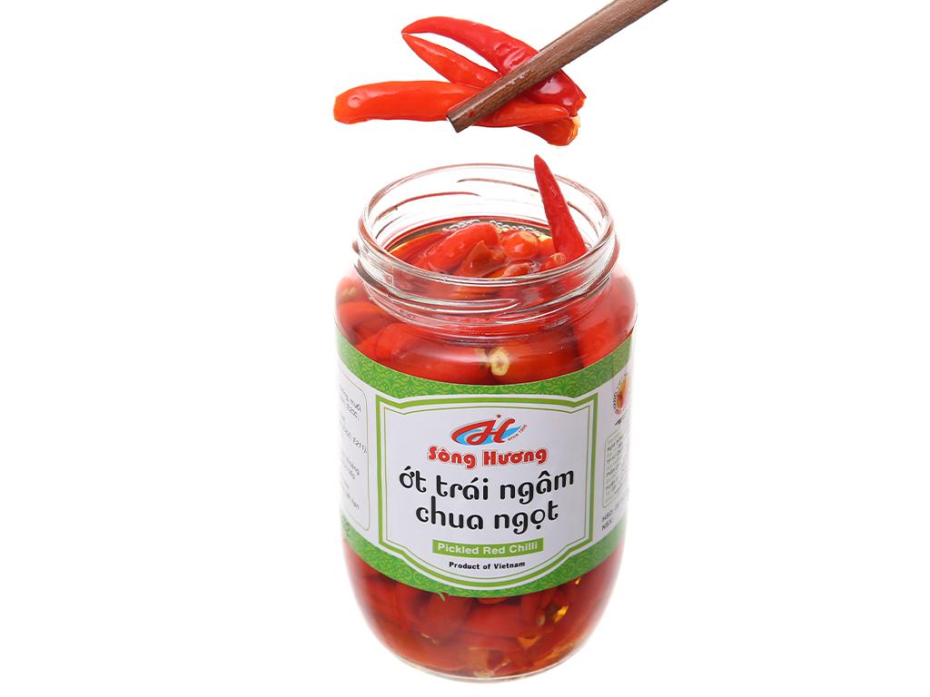 Ớt ngâm chua ngọt Sông Hương hũ 350g 6