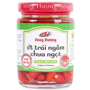 Ớt ngâm chua ngọt Sông Hương hũ 350g