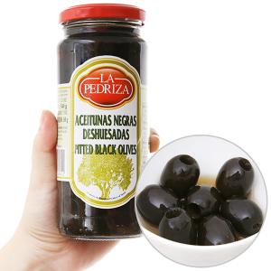 Oliu đen tách hạt La Pedriza hũ 340g