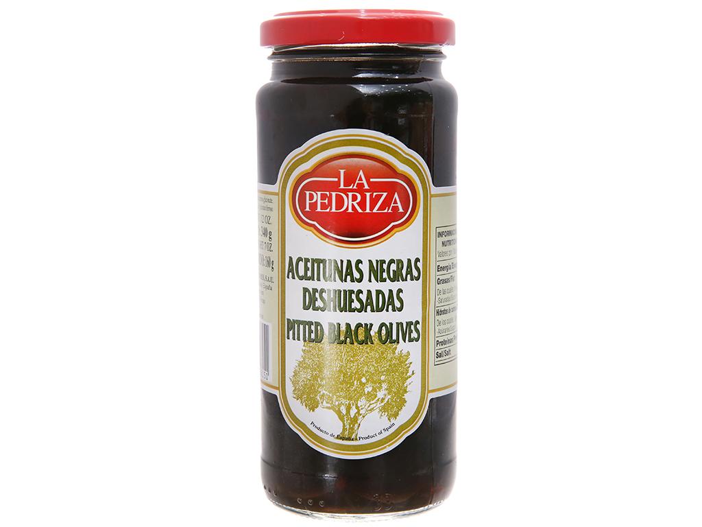 Oliu đen tách hạt La Pedriza hũ 340g 2