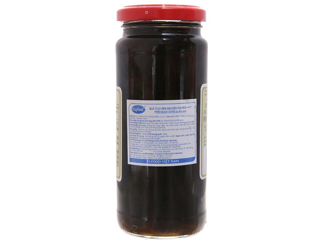 Oliu đen tách hạt La Pedriza hũ 340g 3