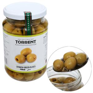 Oliu xanh tách hạt Torrent hũ 370g