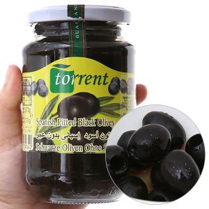 Oliu đen tách hạt Torrent hũ 370g