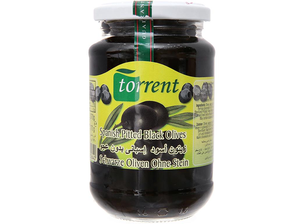 Oliu đen tách hạt Torrent hũ 370g 2