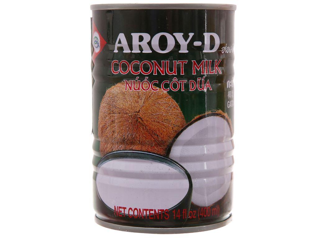 Nước cốt dừa Aroy-D lon 400ml 1