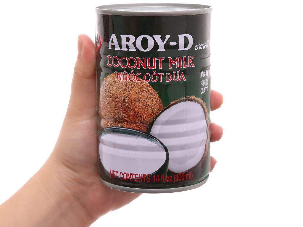 Nước cốt dừa Aroy-D lon 400ml 6