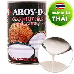Nước cốt dừa Aroy-D lon 400ml