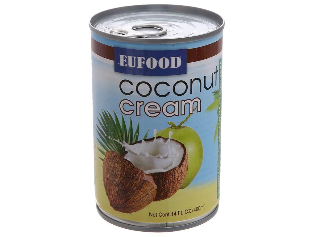 Nước cốt dừa Eufood lon 400ml 1