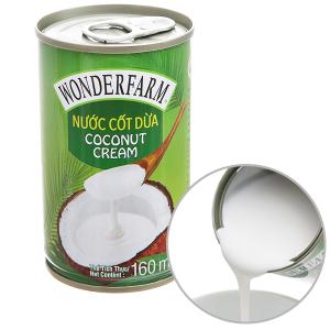 Nước cốt dừa Wonderfarm lon 160ml