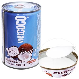 Nước cốt dừa Vietcoco hộp 400ml