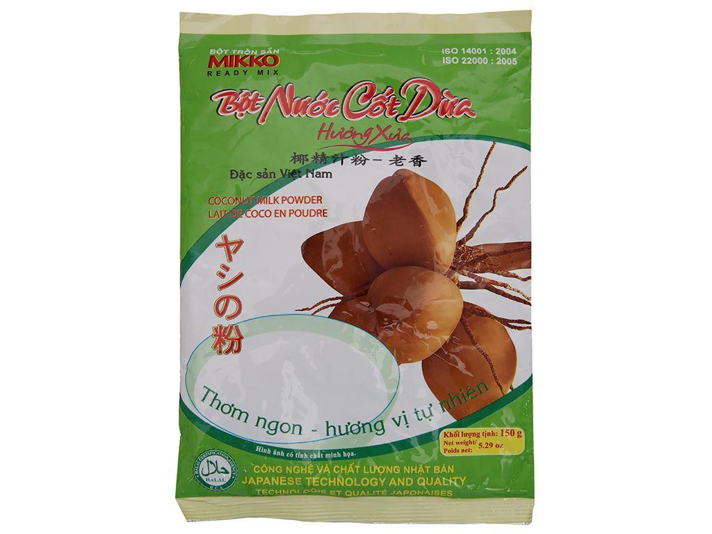 Bột nước cốt dừa Mikko gói 150g 2