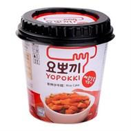 Bánh gạo Topokki Yopokki vị Cay ngọt ly 140g