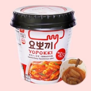 Bánh gạo Yopokki vị cay ngọt ly 140g