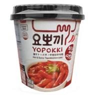 Bánh gạo Topokki Yopokki Siêu cay ly 120g