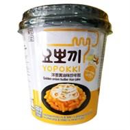 Bánh gạo Topokki Yopokki sốt bơ hành ly 120g
