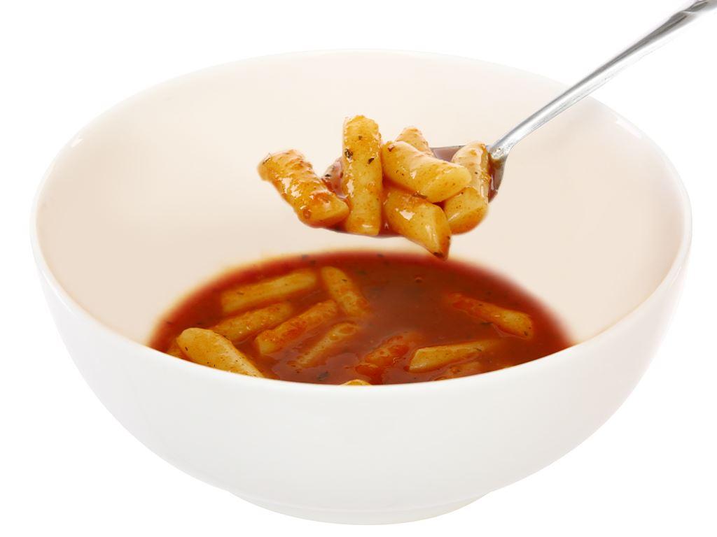 Bánh gạo Pink Rocket Topokki vị cà chua gói 240g 6