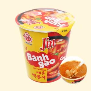 Bánh gạo tokbokki Ottogi Jin cay ly 82g