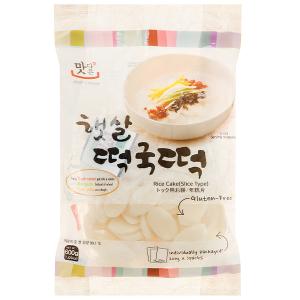 Bánh gạo cắt lát tokpokki Matamun gói 600g