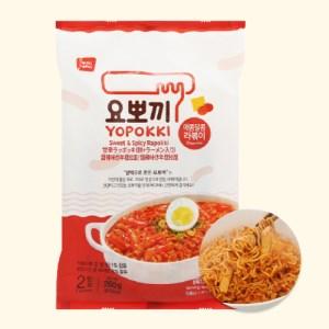 Bánh gạo rapokki Yopokki vị cay ngọt gói 260g