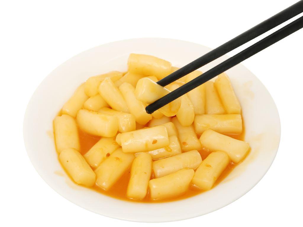 Bánh gạo tokpokki O'food tròn vị phô mai gói 140g 7