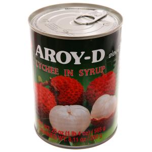 Trái vải ngâm đường Aroy-D 565g