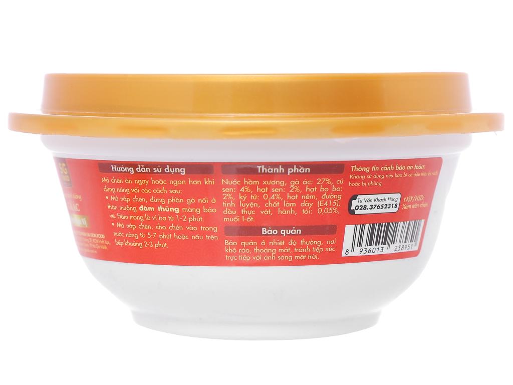 Soup tươi gà ác tiềm ngũ vị SG Food hộp 240g 3