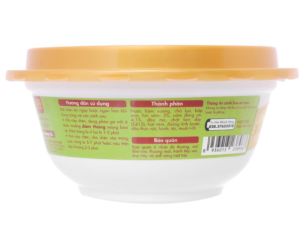 Soup tươi hải sâm nấm đông cô SG Food hộp 240g 3