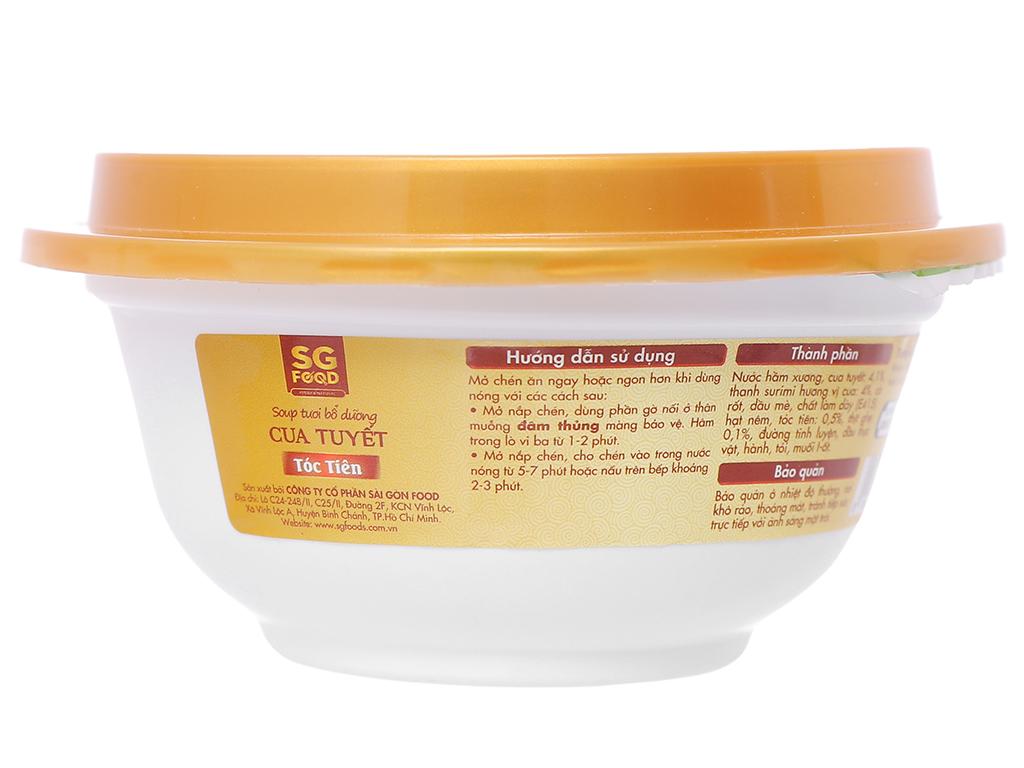 Soup tươi cua tuyết tóc tiên SG Food hộp 240g 2