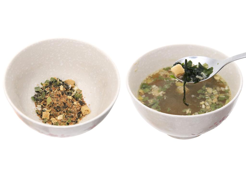 Canh rong biển vị tương miso O Food gói 8g 4