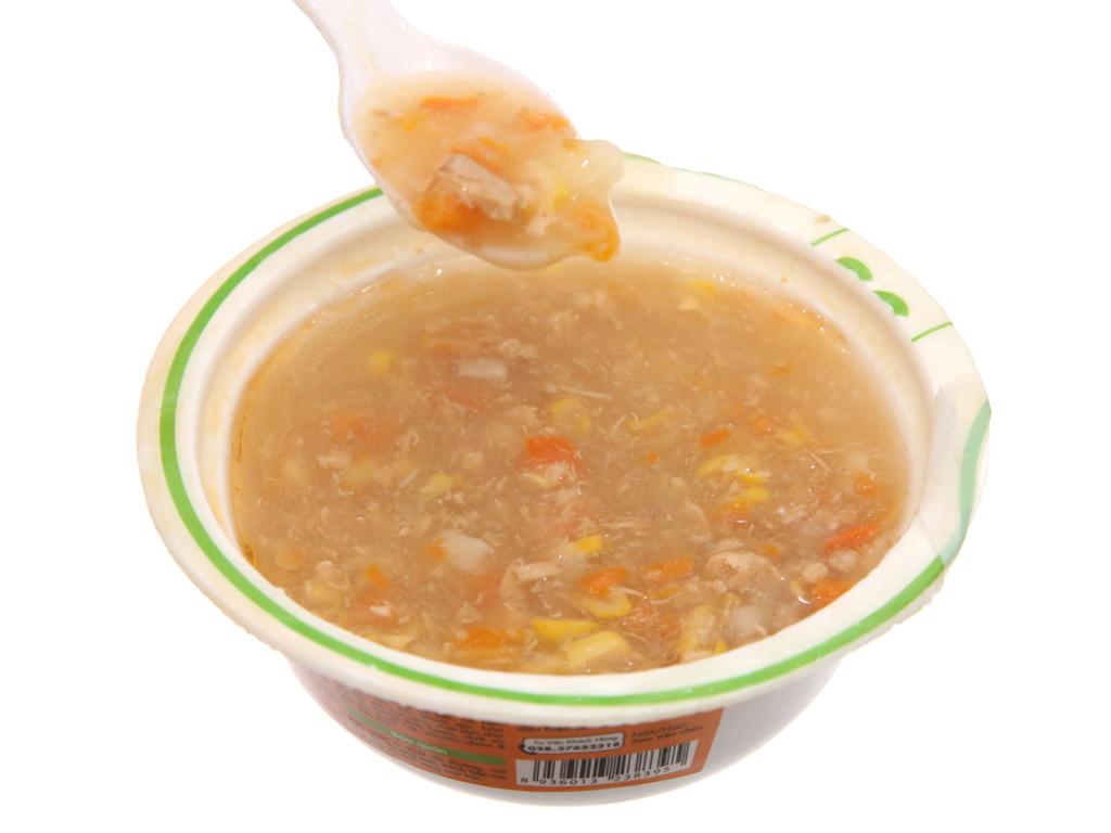 Soup tươi cá hồi và cà rốt SG Food hộp 240g 5