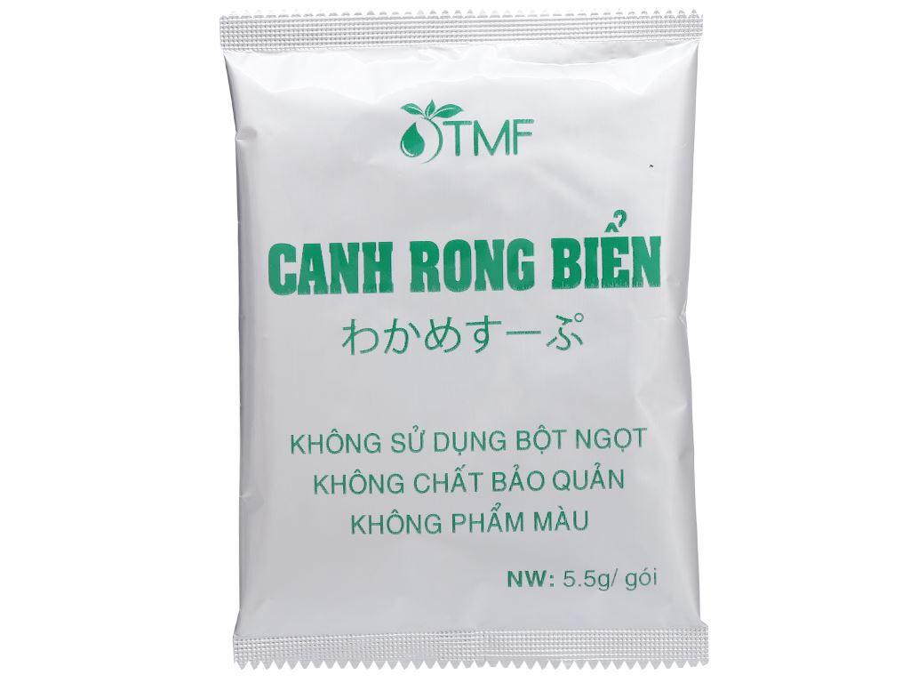 Hộp 10 gói canh dưỡng sinh rong biển Tâm Minh 5.5g 5