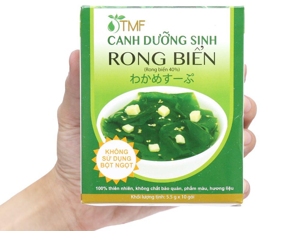 Hộp 10 gói canh dưỡng sinh rong biển Tâm Minh 5.5g 8