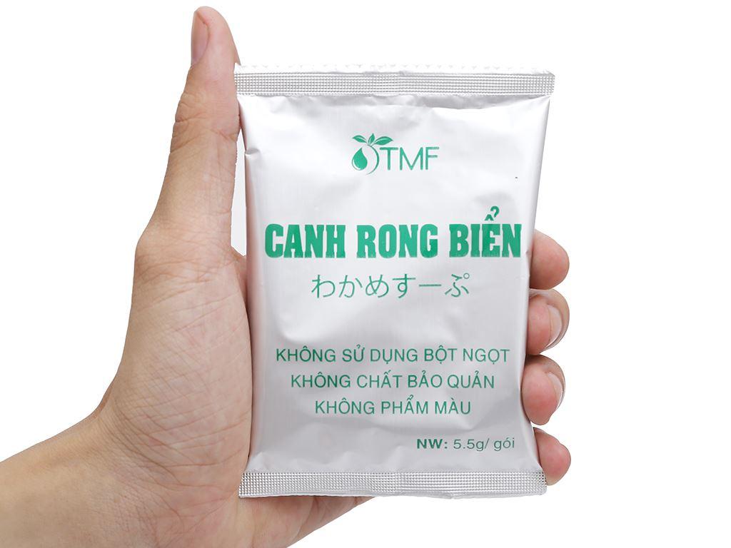 Hộp 10 gói canh dưỡng sinh rong biển Tâm Minh 5.5g 9