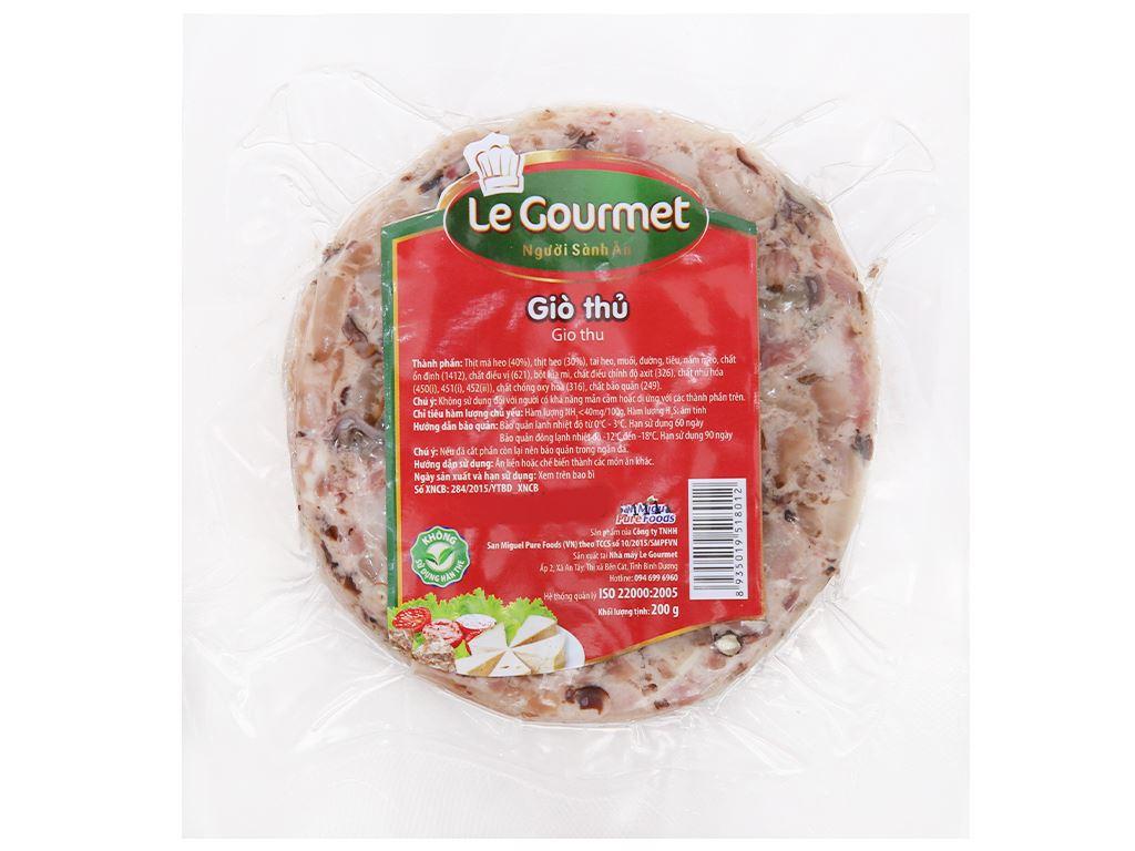 Giò thủ Le Gourmet gói 200g 2