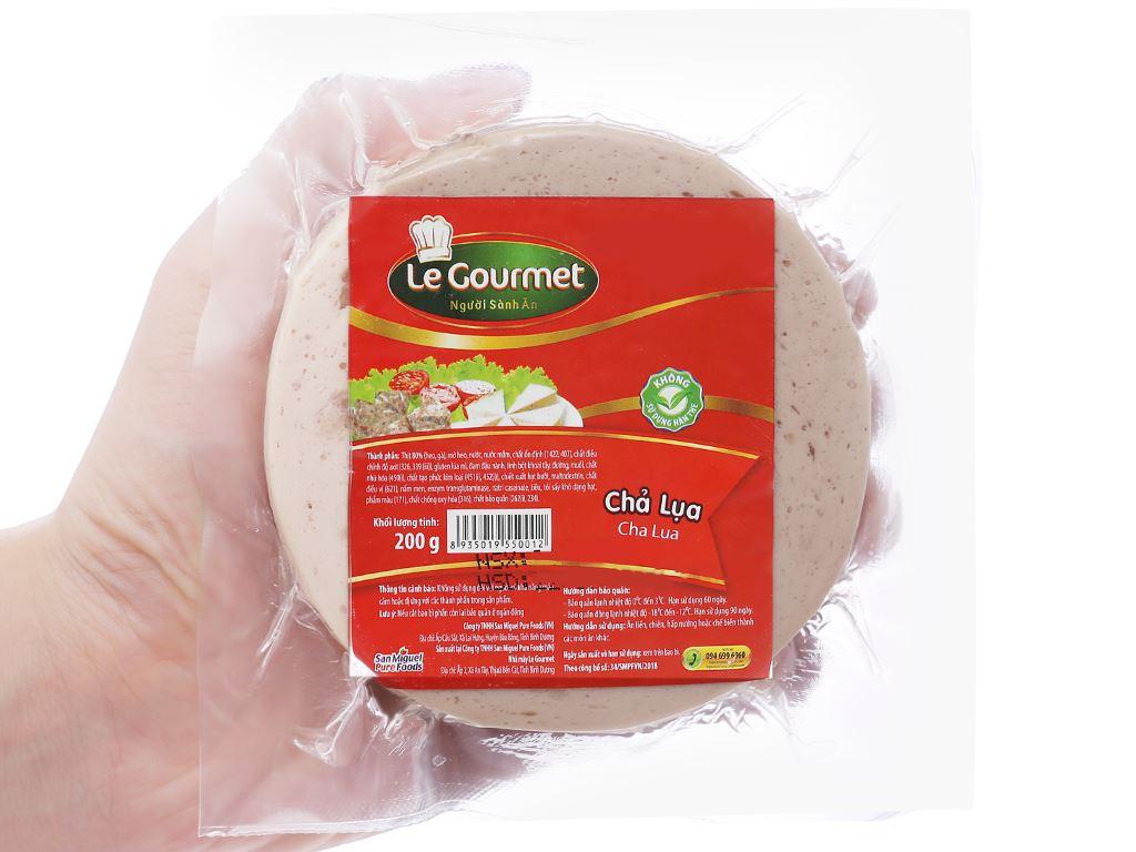 Chả lụa Le Gourmet gói 200g 4
