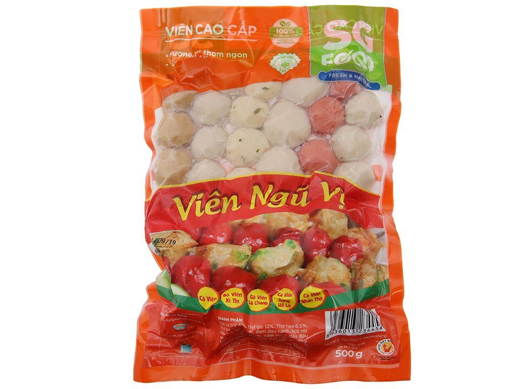 Viên ngũ vị SG Food gói 500g 2