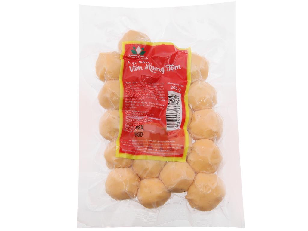 Hải sản viên hương tôm Hoa Doanh gói 200g 2