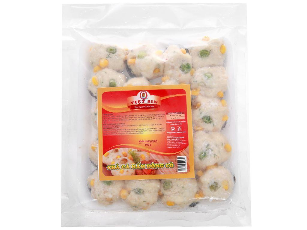 Chả cá nấm đông cô Việt Sin gói 500g 1